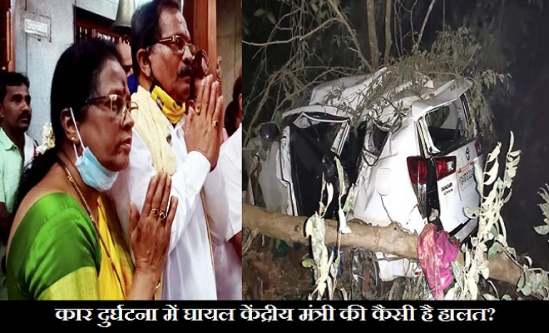 Shripad Naik injured in Karnataka road accident, Union Minister Shripad Naik injured