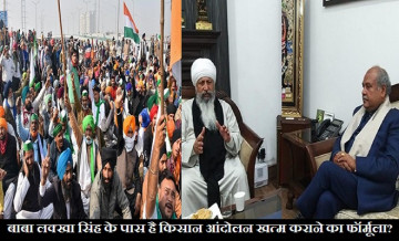 Baba Lakha Singh, Baba Lakha Singh Farmer Protest
