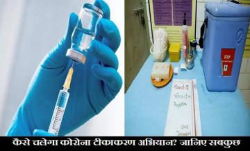 corona vaccination process, vaccination Campaign 16th january
