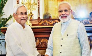 Nitish Kumar, PM Modi