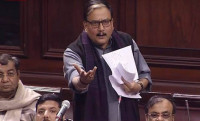 Manoj Kumar Jha, Rajya Sabha