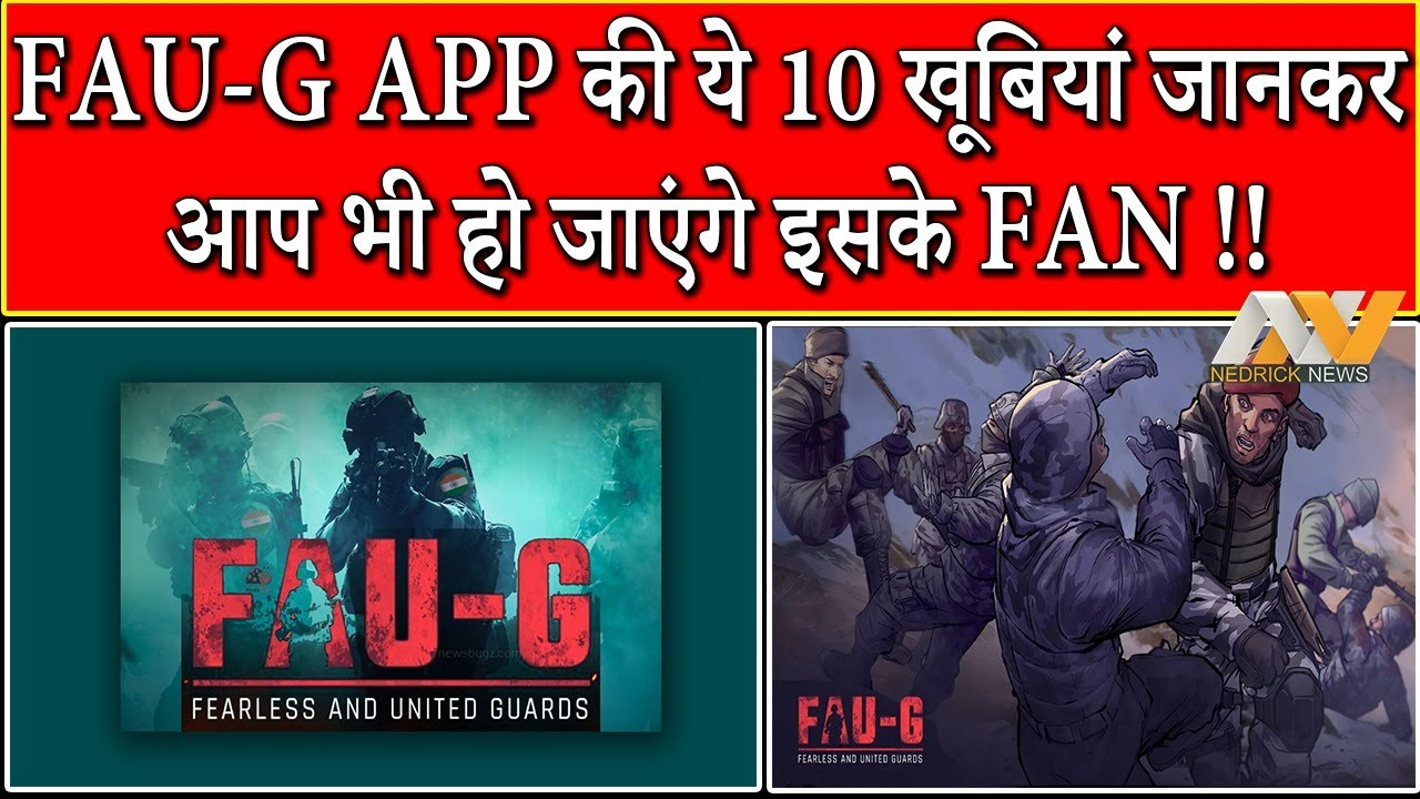 Fau-G APP 10 Special Qualities || Fau-G App Review || Which one is best Fau-G or Pubg ??